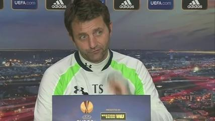 News video: Sherwood: Aim to get on front foot against Dnipro